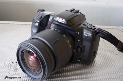 Minolta Dynax 500 SI +28-80mm + 80-210mm