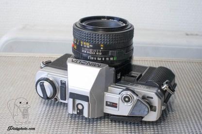 Minolta X-300 + 50mm F:2