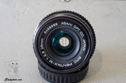 Pentax-M SMC 28mm F:2.8