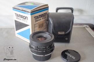 Tamron Adaptall 28mm F:2.5 Nikon AI