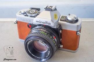 Minolta XG9 + 50mm F:1.7