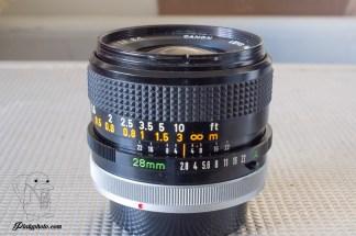 Canon FD 28mm F:2.8