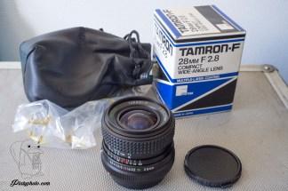 Tamron-F 28mm F:2.8