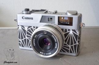 Canonet 28 noir blanc