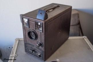 Poulenc Stand Camera détective 1900