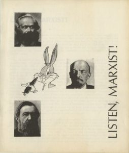 """Front cover of the 1969 pamphlet by Murray Bookchin, """"Listen, Marxist!"""""""