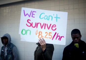 We can't survive on low wages