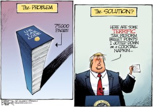 Tax Reform Cartoon