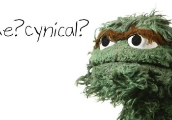 Oscar the cynical grouch