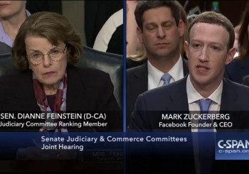 Mark Zuckerberg before Congress