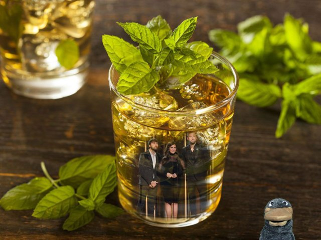Lady Antebellum and a Mint Julep