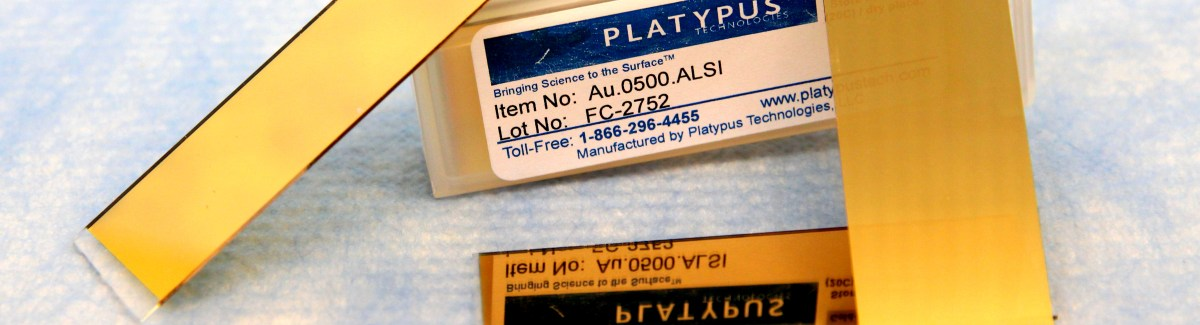 Pristine Gold Thin Films from Platypus Technologies