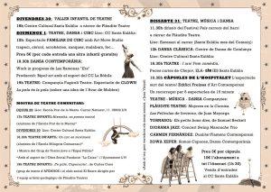 12è FESTIVAL D'ARTS ESCÈNIQUES DE SANTA EULÀLIA – 2014