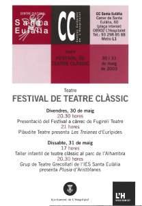 1r Festival d'Arts Escèniques de Sta Eulalia L'H 2003