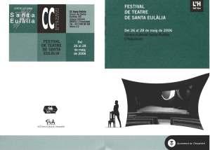 4t Festival d'Arts Escèniques de Sta Eulalia L'H 2006