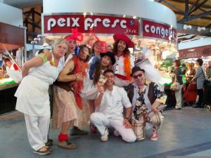 Plàudite Teatre al Mercat de Santa Eulàlia