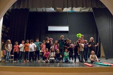 Teatre a l'escola Cavall Bernat