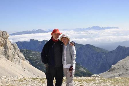 Iznad oblaka Slovenije (Triglav, 2864m), treći dio