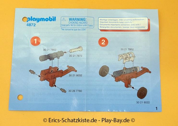 Playmobil® 4872 Raubritter mit Geschütz (Get it @ PLAY-BAY.de)