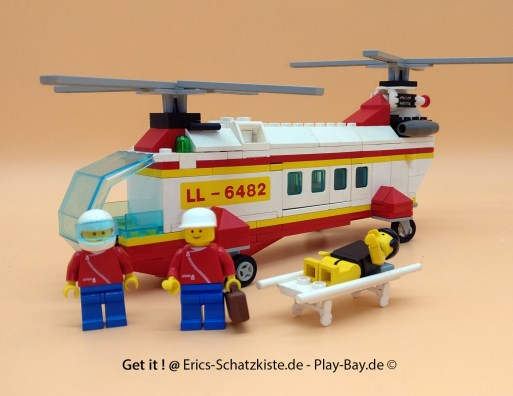 Lego® 6482 [Town] Rettungshubschrauber Rescue Helicopter (Get it @ PLAY-BAY.de)