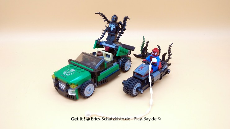 Lego® 76004 [Super Heroes] Jagd im Spider-Cycle Spider Cycle Chase (Get it @ PLAY-BAY.de)