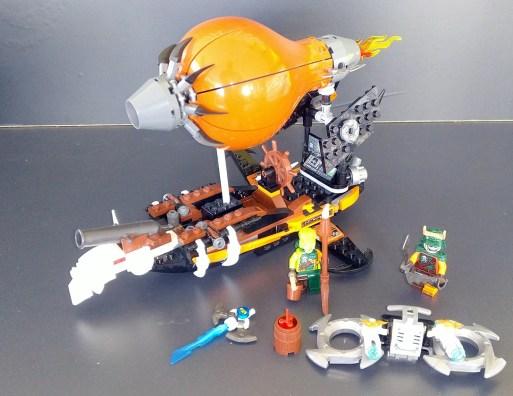 Lego® 70603 [Ninjago] Kommando Zeppelin Raid Zeppelin (Get it @ PLAY-BAY.de)