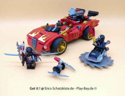 Lego® 70727 [Ninjago] X1-Ninja Supercar (Get it @ PLAY-BAY.de)