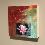 Lotus Painting on Wall