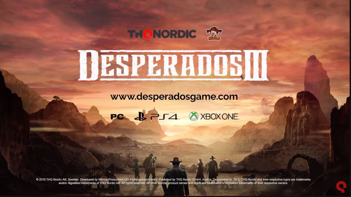 Desperados Iii The Choice Is Made With The Interactive Trailer Play Experience World Today News
