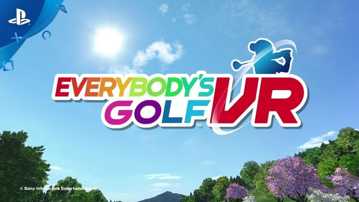EVERYBODY'S GOLF VR - ab sofort erhältlich