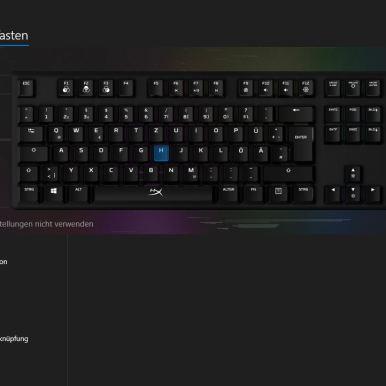 HyperX Tastatur Tasten