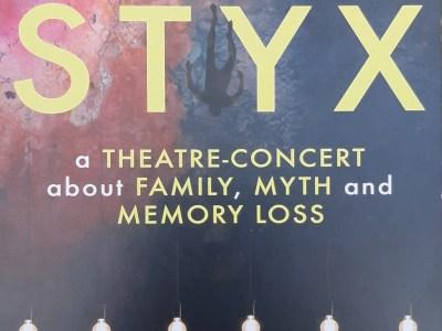 Styx #DramatherapistAtEdFringe