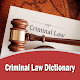 Criminal Law Dictionary for PC