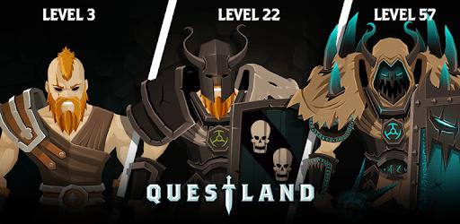 Questland: RPG tour par tour captures d'écran