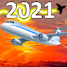 City Airplane Pilots Flying Simulator 3d-Flight 21 Game icon