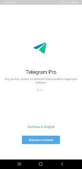 Telegram Pro preview screenshot