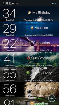 Day Counter: Track Life Events Capturas de pantalla