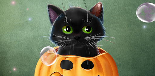 Enjoy and share your favorite the happy … Cute Halloween Live Wallpaper Apps On Google Play