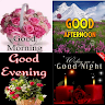 telecharger Good Night Morning Evening Aftenoon GIF apk