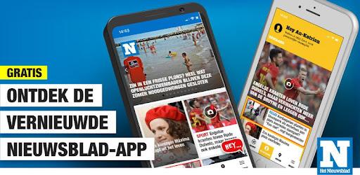 Het Nieuwsblad nieuws captures d'écran