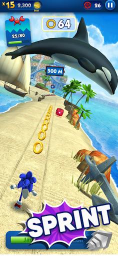 Jeux De Course A Pied : course, Sonic, Course, Applications, Google