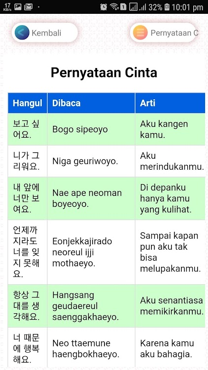 Bahasa Korea Kangen : bahasa, korea, kangen, Mudah, Belajar, Bahasa, Korea, (Android, Apps), AppAgg