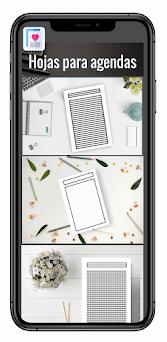 Agendas y cuadernos Capturas de pantalla