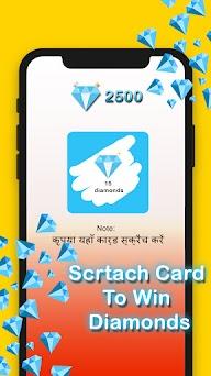 Free Diamonds - Scratch To Win Elite Pass Capturas de pantalla