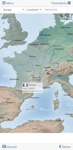 Carte Des Fleuves Du Monde : carte, fleuves, monde, Atlas, Mondial, Carte, Monde, MxGeo, Applications, Google