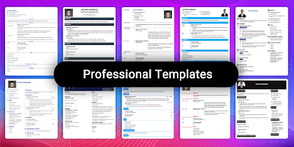 Spend as little or as much time as you want to make the graphic your own. Resume Builder App Free Cv Maker Cv Templates 2021 Apps On Google Play