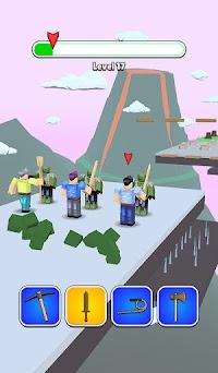 Roblock Transform Run - Epic Craft Race Capturas de pantalla