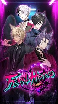 Feral Hearts: Otome Romance Game Capturas de pantalla