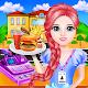School Cafe Cash Register Girl for PC