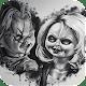 Tiffany v.s Chucky Wallpapers Art for PC